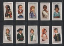 Tobacco cigarette cards Children of all Nations 1934